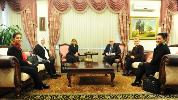 Visit to Minister Avcı from TİKAD